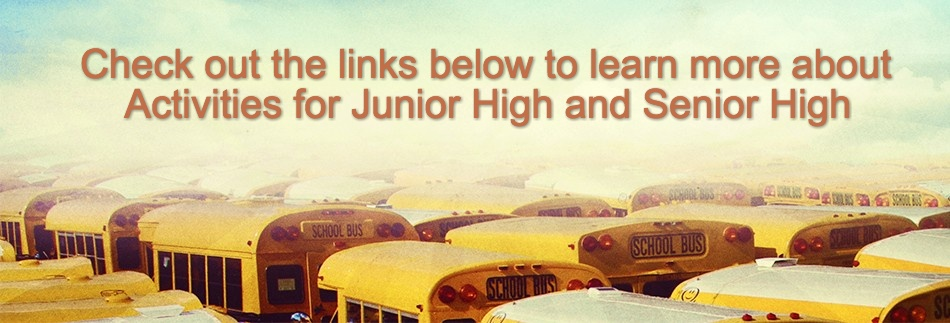 Back to School yellow Bus Website Banner